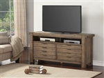 Brighton 63 Inch TV Console in Antique Vintage Muslin Finish by Parker House - BRI-63