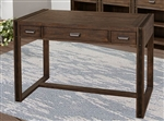 Brooklyn 48 Inch Writing Desk in Antique Burnished Pine Finish by Parker House - BRO-448