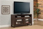 Brooklyn 60 Inch TV Console in Antique Burnished Pine Finish by Parker House - BRO-60