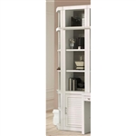 Catalina 22 Inch Open Top Bookcase in Cottage White Finish by Parker House - CAT-420