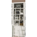 Catalina 32 Inch Open Top Bookcase in Cottage White Finish by Parker House - CAT-430