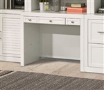 Catalina 40 Inch Library Desk in Cottage White Finish by Parker House - CAT-461D