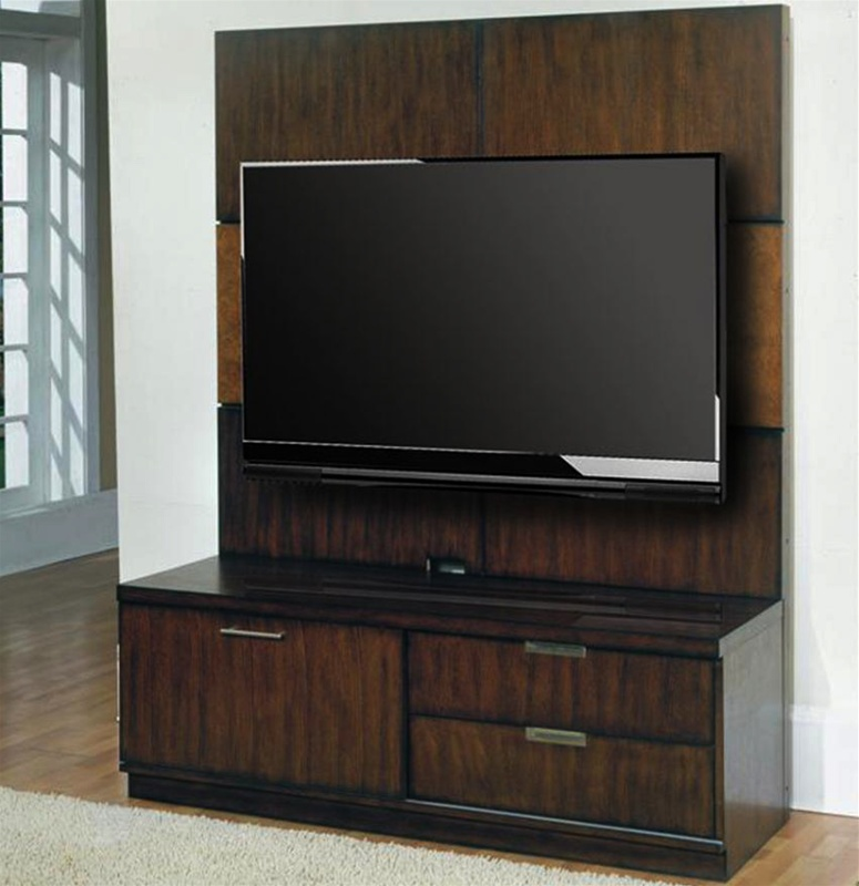 Cityscape Gateway 2pc 58 Inch Tv Console Backpanel By Parker House Cgat 1250 2