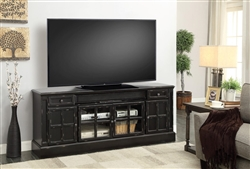 Concord 72 Inch TV Console with Power Center in Vintage Coal Finish by Parker House - CON-72