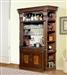 Corsica 4 Piece Bar Unit in Antique Vintage Dark Chocolate Finish by Parker House - COR-465-2-4