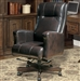 Prestige Office Chair in Sable Leather by Parker House PH-DC-103-SB