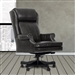 Pacific Grey Leather Desk Chair by Parker House DC#105-PGR