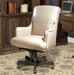 Prestige Office Chair in Biscuit Leather by Parker House DC-106-BI