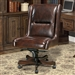 Prestige Office Chair in Cigar Leather by Parker House DC-108-CI