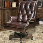 Prestige Office Chair in Havana Leather by Parker House DC-112-HA