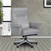 Prestige Office Chair in Mist Leather by Parker House DC#119-MIS