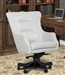 Prestige Office Desk Chair in Alabaster Leather by Parker House DC#122-ALA