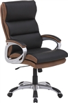 Prestige Office Chair in Dunstan Two Tone Bycast by Parker House DC-203-DS