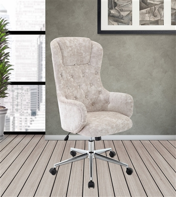 Frost Fabric Office Desk Chair by Parker House DC#207-FRO