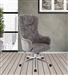 Mineral Fabric Office Desk Chair by Parker House DC#207-MIN