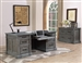 Gramercy Park 2 Piece Home Office Set in Vintage Burnished Smoke Finish by Parker House - GRAM-2