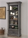 Gramercy Park Museum Bookcase in Vintage Burnished Smoke Finish by Parker House - GRAM-9030