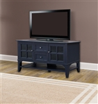 Hamilton 63 Inch TV Console in Vintage Navy Finish by Parker House - HML-63