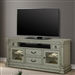 Lafayette 74 Inch TV Console with Power Center in Antique Vintage Sage Finish by Parker House - LAF#74