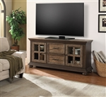 Laredo 68 Inch TV Console with LED Lights in Vintage Hickory Finish by Parker House - LAR-68