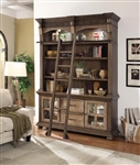 Laredo 3 Piece Display Entertainment Center with Shelves in Vintage Hickory Finish by Parker House - LAR-680-2L
