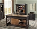 Lincoln Park 4 Piece Home Office Set in Vintage Ash Finish by Parker House - LIN-4WD