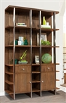 Madison 2 Piece Bookcase in Burnished Amber Finish by Parker House - MAD-250P