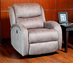 Ajax Taupe Microfiber Power Recliner by Parker House - MAJA-812P-TA