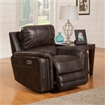 Belize Power Recliner with Power Headrest and USB Port in Cafe Fabric by Parker House - MBEL#812PH-CAF