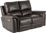 Belize Dual Power Reclining Loveseat with Power Headrest and USB Port in Cafe Fabric by Parker House - MBEL#822PH-CAF