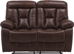 Berlin Power Dual Reclining Loveseat in Walnut Color Cover by Parker House - MBER-822P-WAL