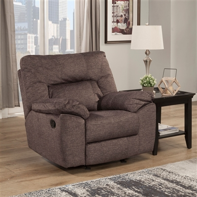 Blake Glider Recliner in Sable Fabric by Parker House - MBLA-812G-SAB