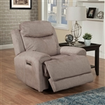 Bowie Power Recliner with Power Headrest and USB Port in Doe Fabric by Parker House - MBOW-812PH-DOE