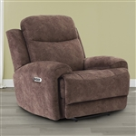 Bowie Power Recliner with Power Headrest and USB Port in Range Fabric by Parker House - MBOW-812PH-RNG