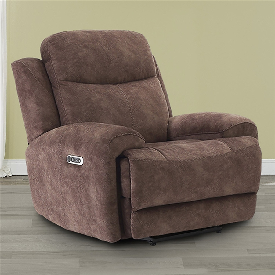 Magnificent Bowie Power Recliner With Power Headrest And Usb Port In Range Fabric By Parker House Mbow 812Ph Rng Creativecarmelina Interior Chair Design Creativecarmelinacom