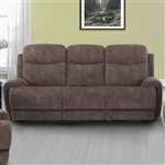 Bowie Power Reclining Sofa with Power Headrests and USB Ports in Range Fabric by Parker House - MBOW-832PH-RNG