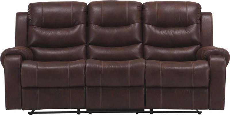 Brahms Dual Reclining Sofa in Cowboy Color Cover by Parker House