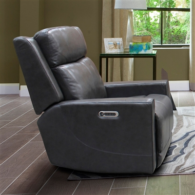 Cabo Power Recliner with Power Headrest and USB Port in Flagstaff Leather by Parker House - MCAB#812PH-FLA