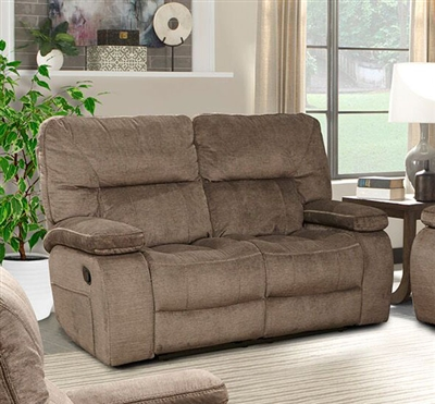 Chapman Manual Dual Reclining Loveseat in Kona Fabric by Parker House - MCHA-822-KON