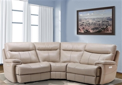 Dylan Creme 3 Piece Modular Reclining Sectional by Parker House - MDYL-3-CRE