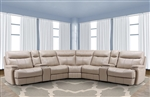 Dylan Creme 7 Piece Modular Reclining Sectional by Parker House - MDYL-7-CRE