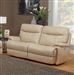 Dylan Creme Power Dual Reclining Sofa with Power Headrests and USB Ports by Parker House - MDYL-832PH-CRE