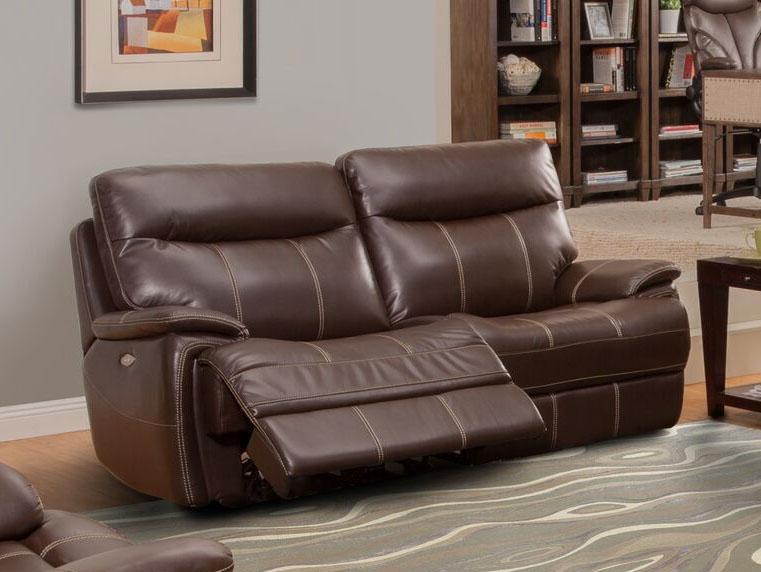 Mahogany Dual Reclining Sofa