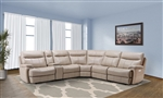 Dylan Creme 6 Piece Reclining Sectional by Parker House - MDYL-PACKA(H)-CRE