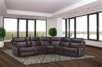 Dylan Mahogany 6 Piece Reclining Sectional by Parker House - MDYL-PACKM(H)-MAH