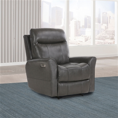 Fiji Power Recliner with Power Headrest and USB Port in Flagstaff Leather by Parker House - MFIJ#812PH-FLA