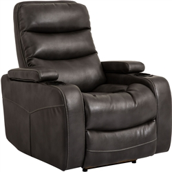 Genesis Flint Black Power Recliner by Parker House - MGEN-812P-FLI