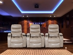 Genesis Linen Cream Power Theater Seating by Parker House - MGEN-812P-LIN-3
