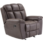 Goliath Manual Glider Recliner in Arizona Brown Fabric by Parker House - MGOL#812G-ABR