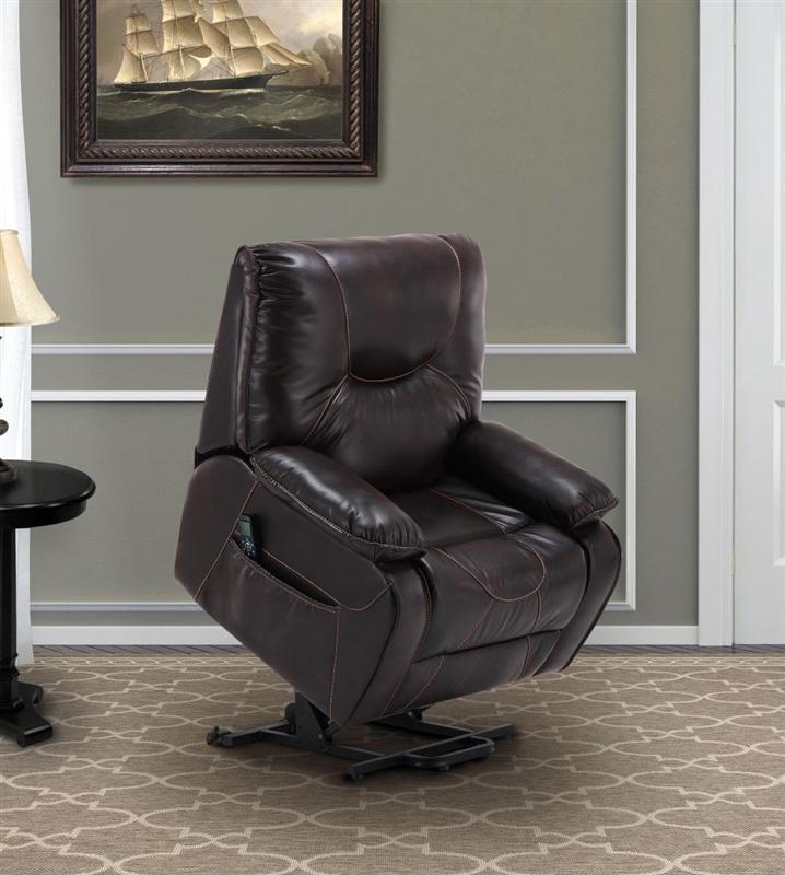 handel sumatra lay flat big man s reclining lift chair by parker